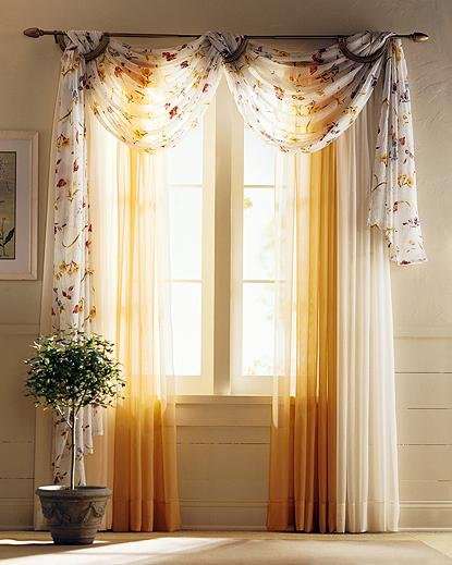 unique curtain window