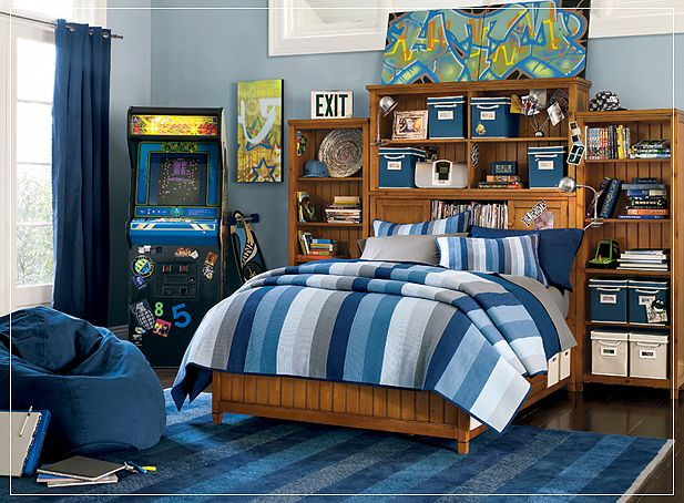 Teen room ideas for Funky boys bedroom ideas
