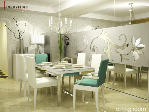 New Dining Room Ideas White Themed Design