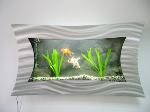 fancy wall aquarium