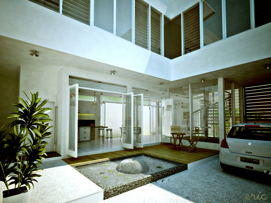 Interior Courtyard House Plans