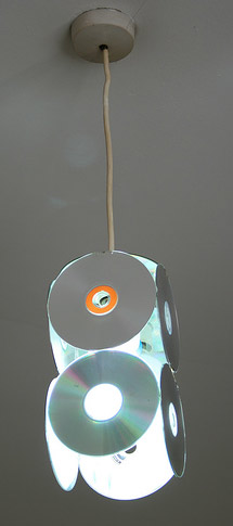 cd lampshade
