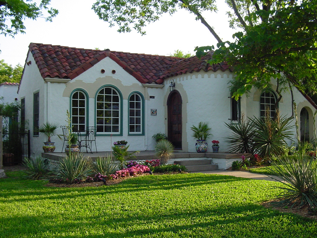 Spanish style homes for Exterior home styles