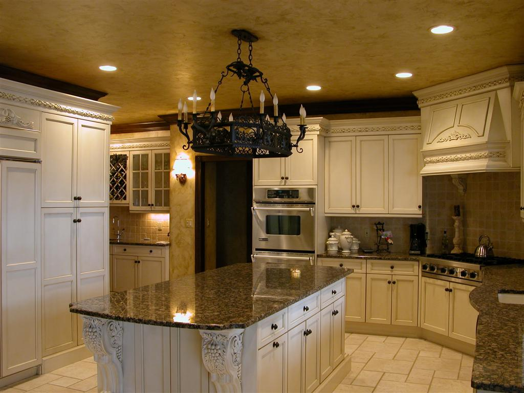 Tuscan style kitchens for Kitchen styles pictures