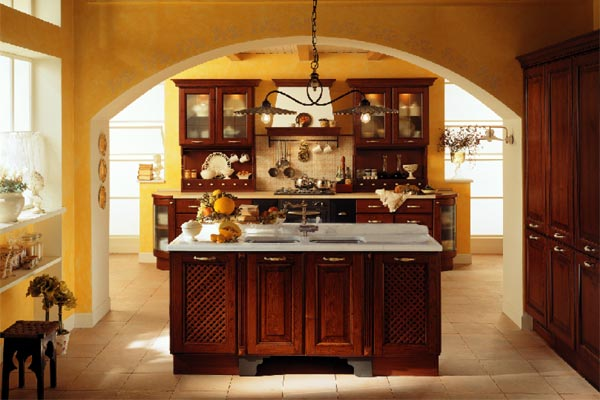 Traditional italian kitchens for Italian kitchen design