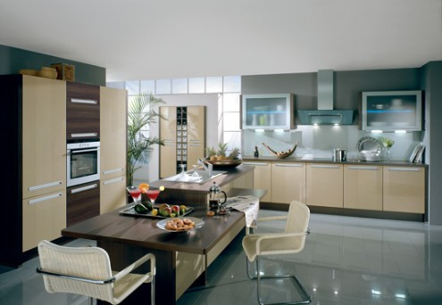 Modern Luxury German Kitchens Design