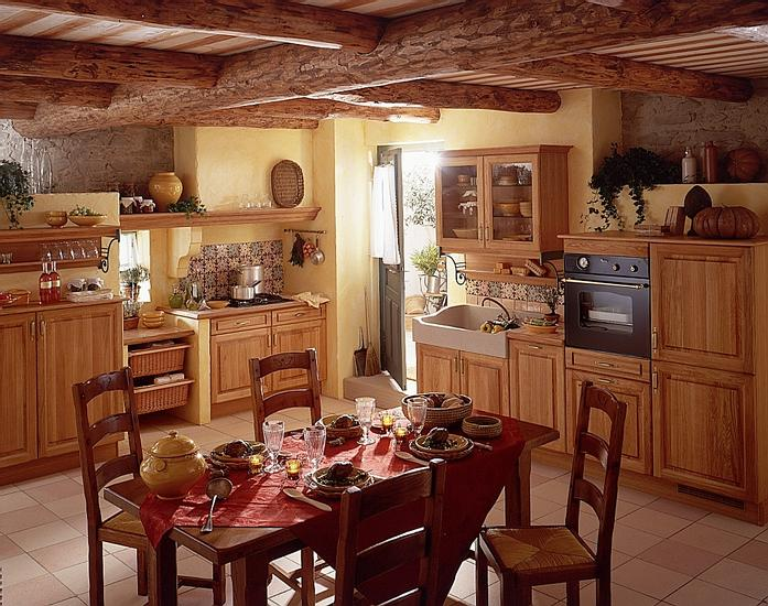 Country Kitchen Decor: French Country Kitchens