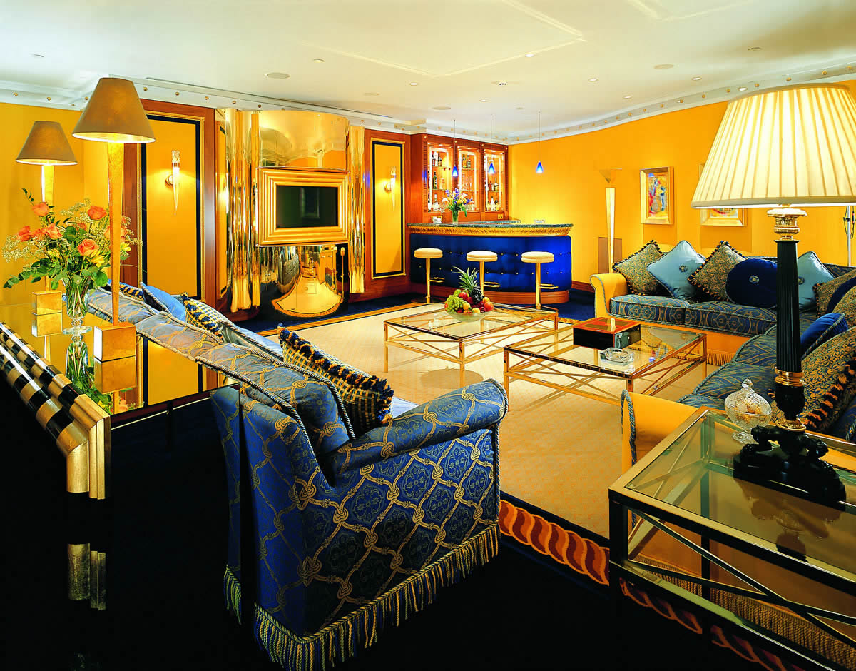 Luxury home interior design home interior design for Burj al arab presidential suite