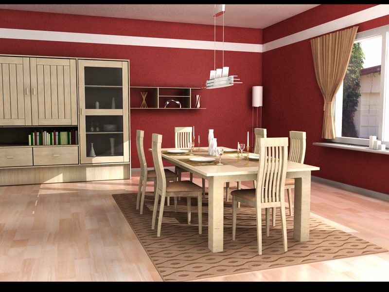 Incredible Dining Room Design 800 x 600 · 2254 kB · png