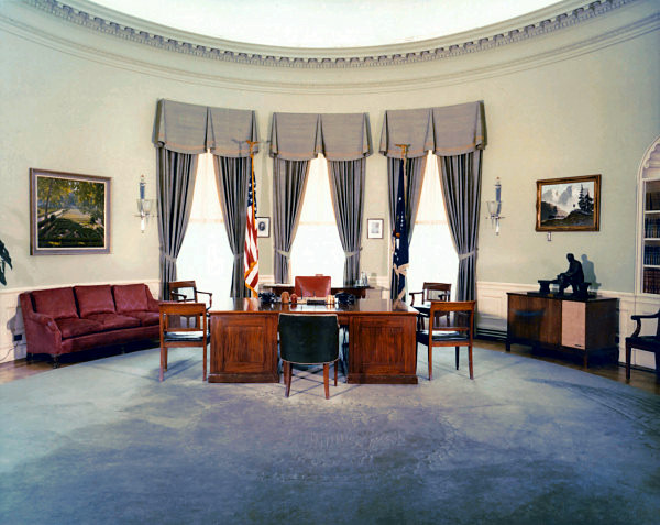 The Ugliest Oval Offices Of The 20th Century