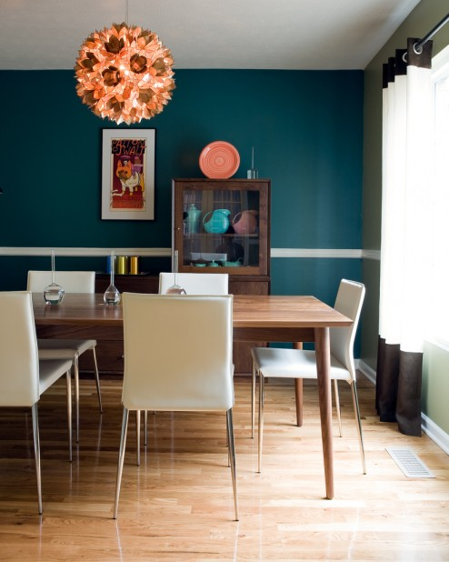 New Modern Dining Room Inspiration - encourages conversation among family members