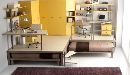 Bunk Beds and Lofts for Teenagers