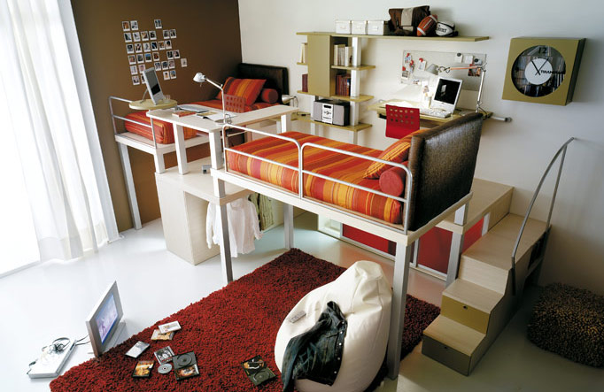 Teenagers Beds home sweet home: bunk beds and lofts for teenagers and kids