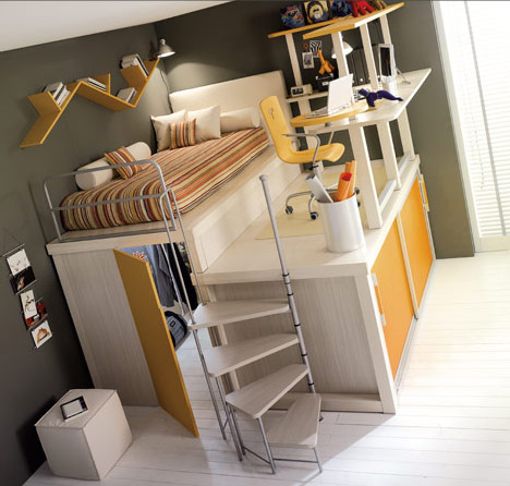 Teen Bedroom Ideas with Loft Beds