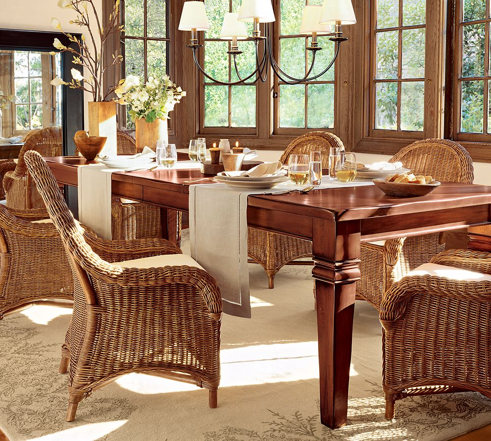 Dining room chair redo: Painting stained wood furniture that has a