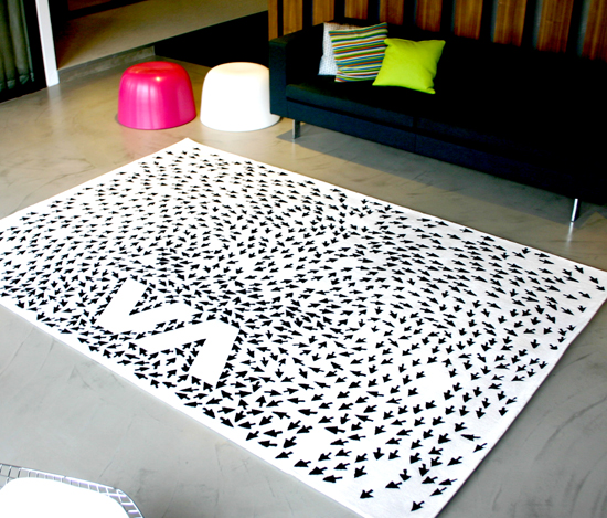 Weird Rugs interior designs: rugs with a difference