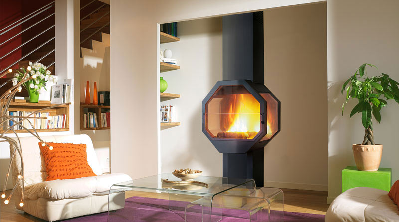 octagon - superbb Fireplaces