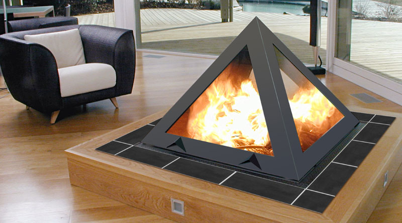 pyramid - superbb Fireplaces
