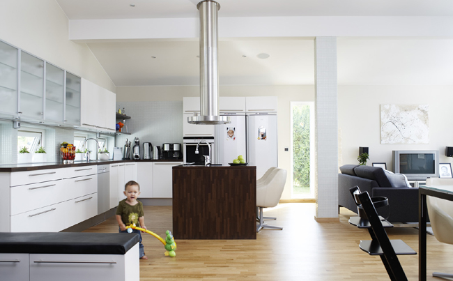 Scandinavian kitchens - Interior designs of houses and kitchens ...
