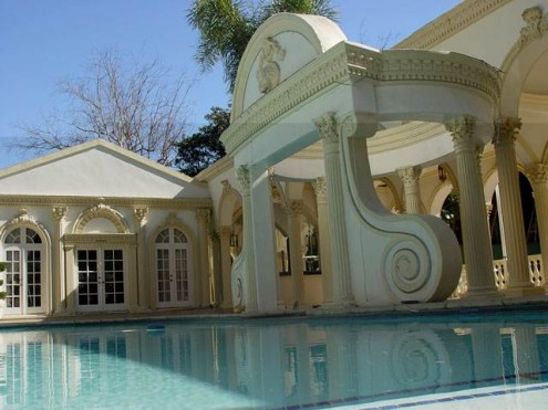 palatial house swimming pool