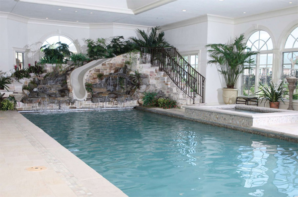 Home indoor swimming pool desing - Inside swimming pool ...