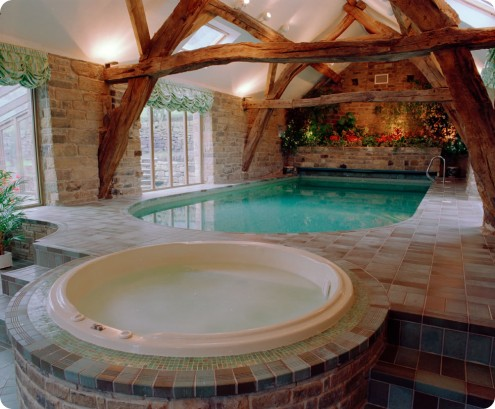 Interior Swimming Pool Design