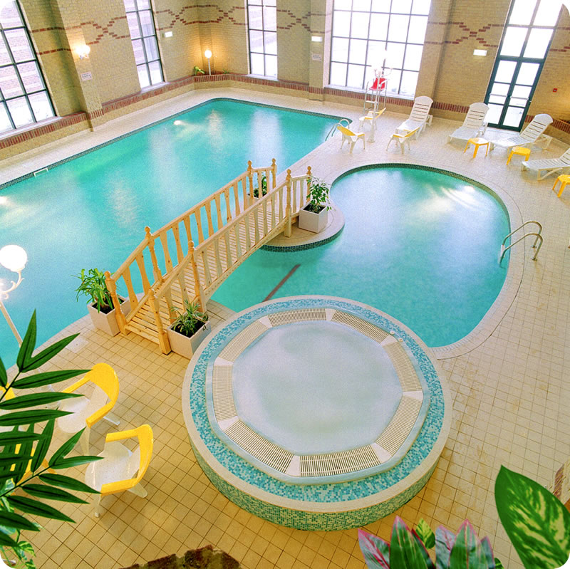 1000 images about indoor pools inspiration board on for Luxury indoor swimming pool design