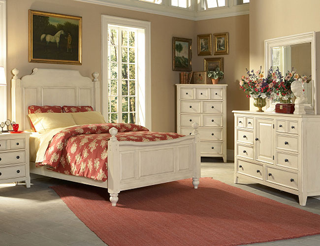 Country cottage style bedrooms for Bedroom design styles