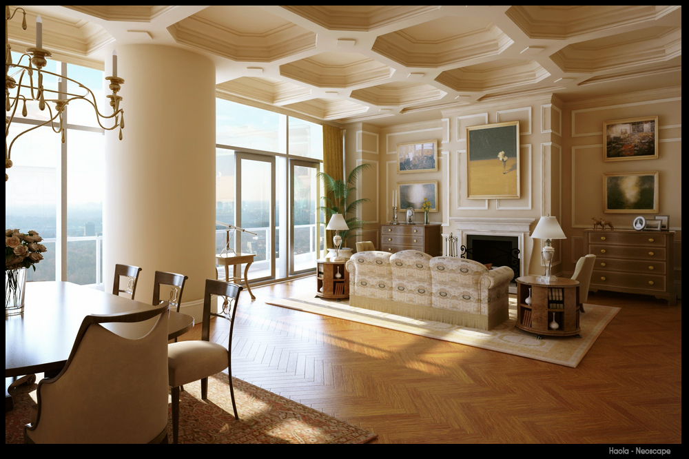 Classic Living Room Interior Design Modern Home Exteriors