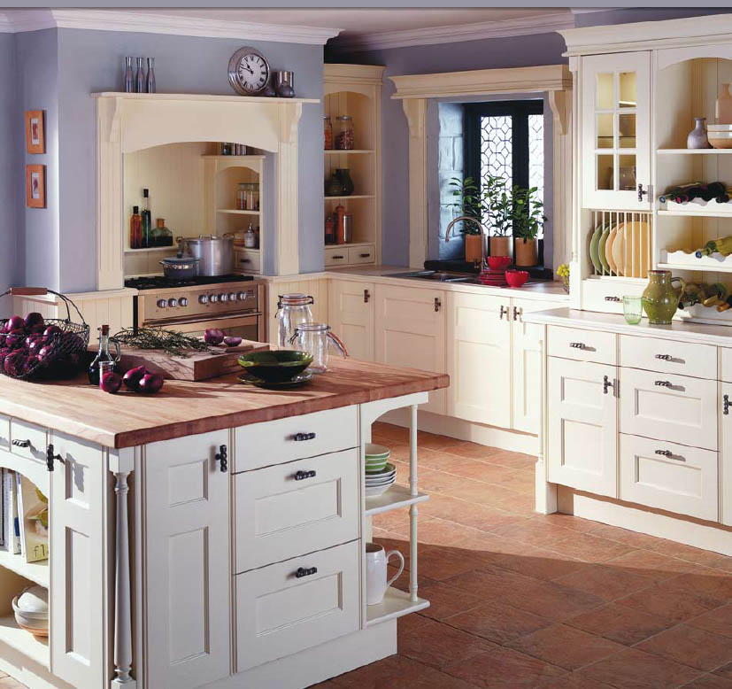 English country style kitchens for Home kitchen design pictures