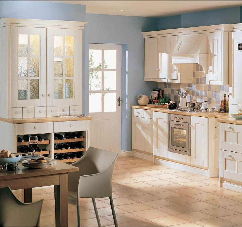Ivory kitchen ideas afreakatheart Kitchenette decorating ideas