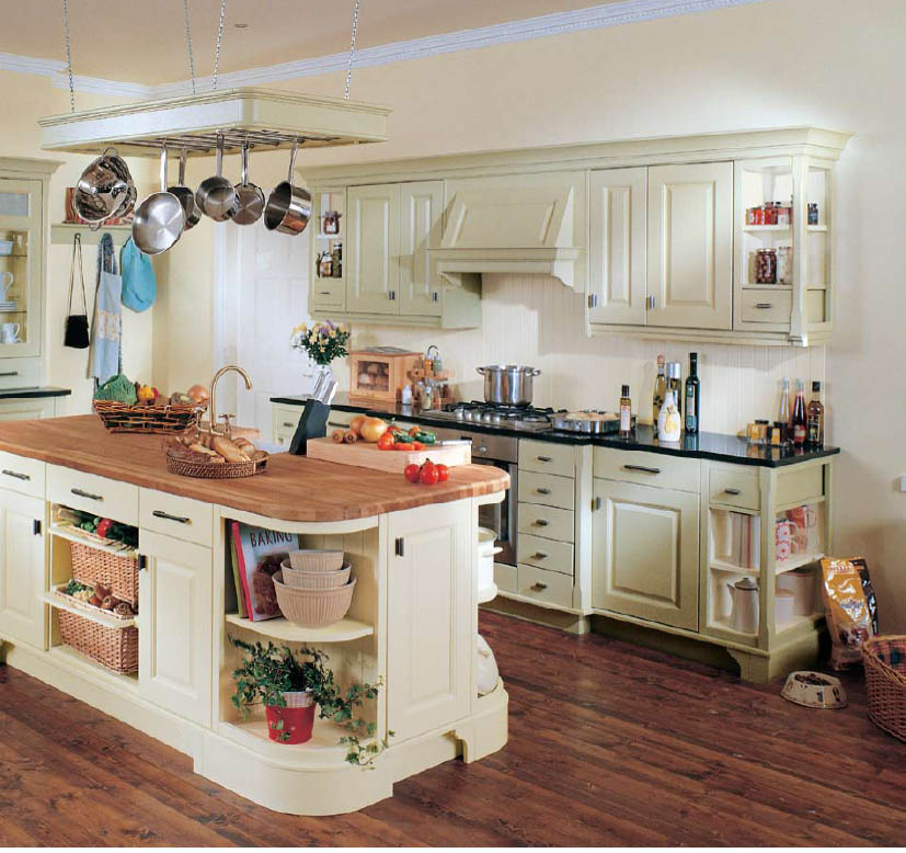 English country style kitchens for Old country style kitchen ideas