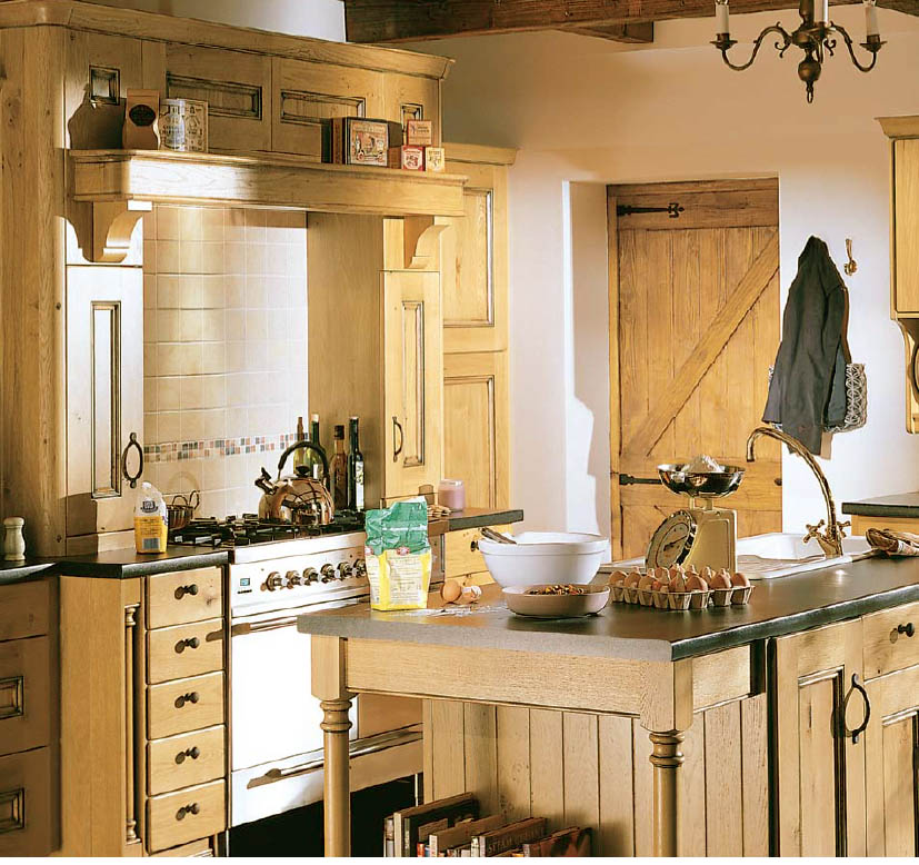 Country Cabinets For Kitchen: English Country Style Kitchens