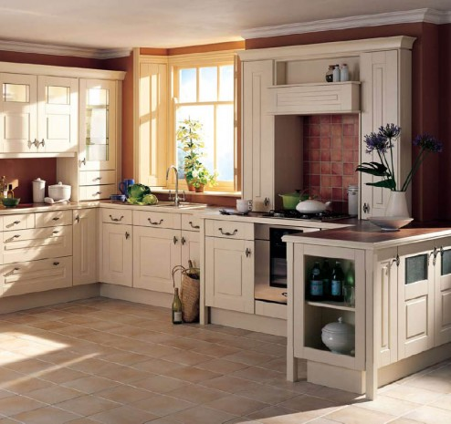 Kitchen remodel designs country cottage kitchens for Country cottage kitchen ideas