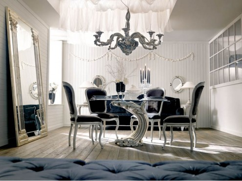 italian interior design dining room