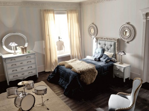 italian interiors luxury bedroom  interior design italian classic style