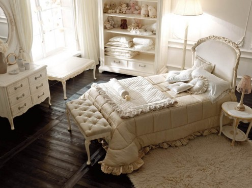 luxury bedroom  interior design italian classic style