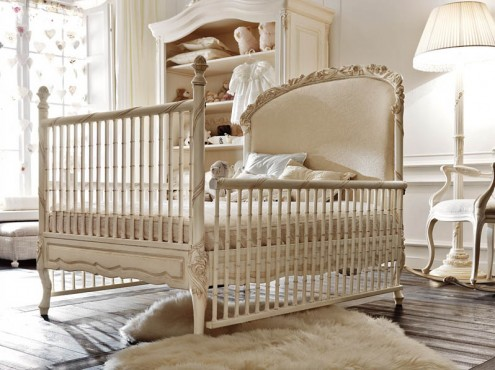 luxury child room  interior design italian classic style