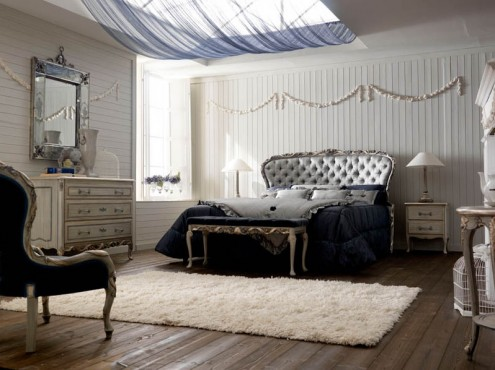 Luxury and Classic Italian Top Bedroom Design