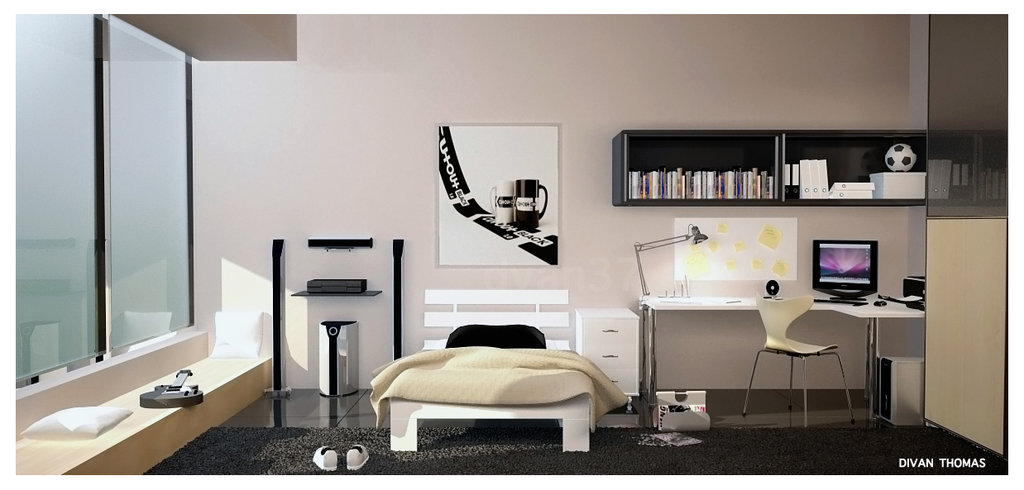 Modern fashion room design guide with photos room for Apartment design manual
