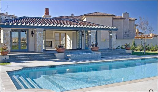 Britney's new home in LA (USA)