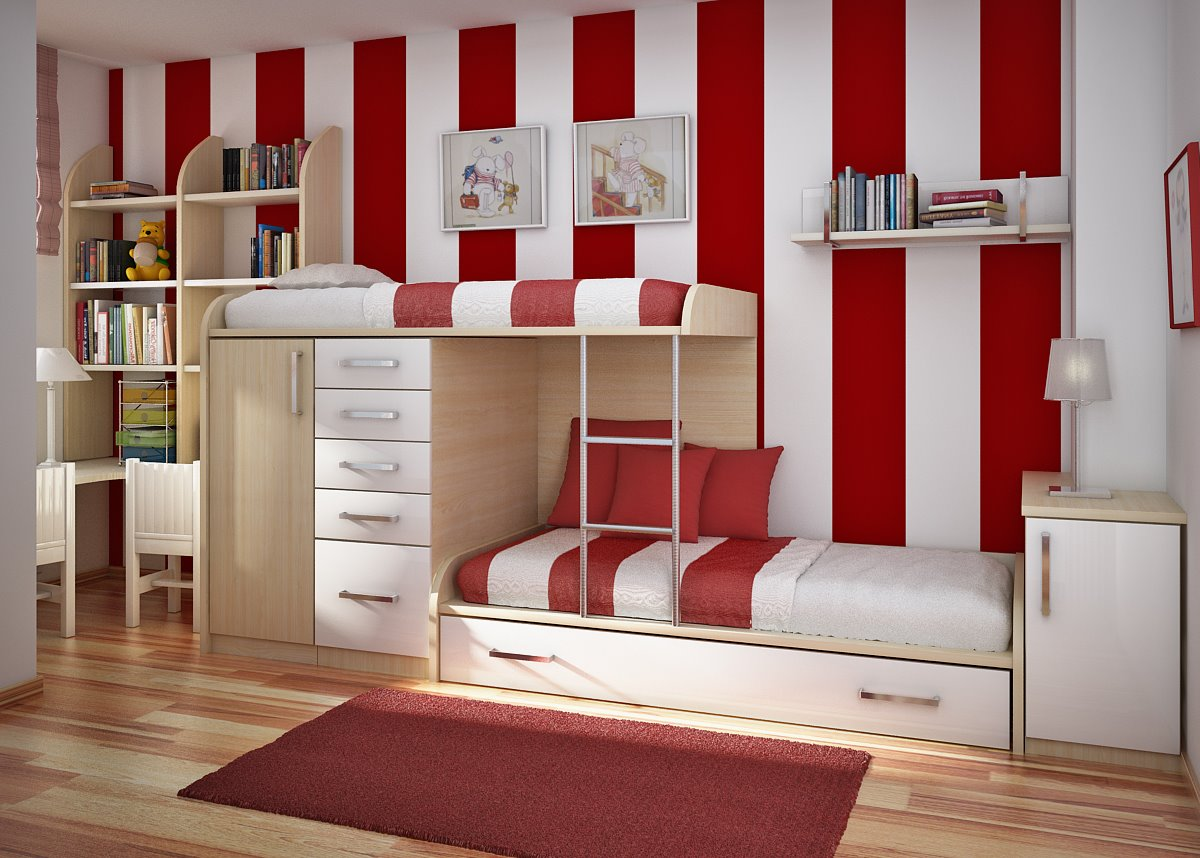 Impressive Small Bedroom Design Kids Room Beds 1200 x 858 · 168 kB · jpeg