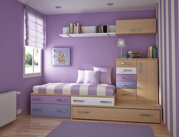 kids room violet
