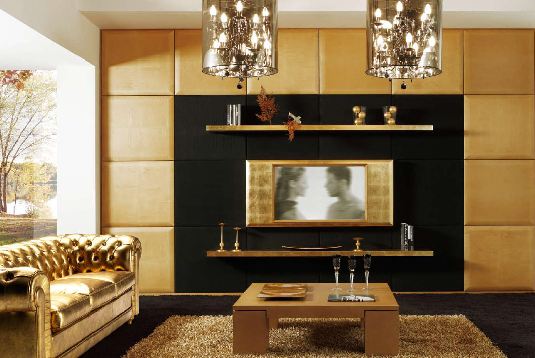 Modern Art Deco Living Rooms