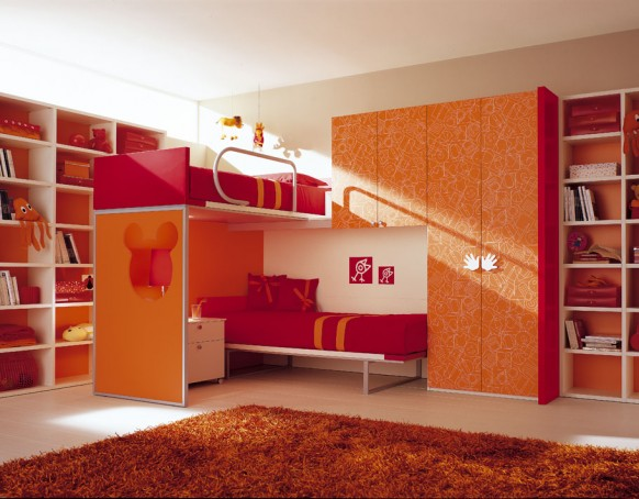 Bunk Beds Kids Room
