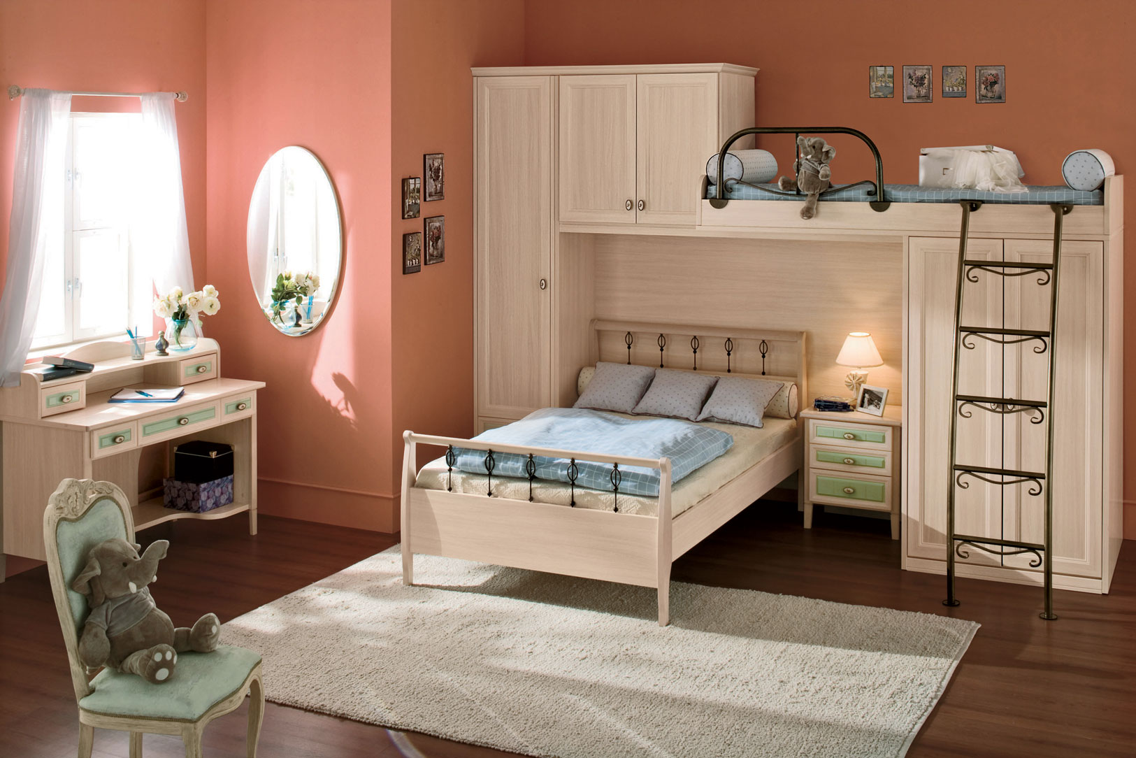 Kid 39 s rooms from russian maker akossta for Children bedroom furniture