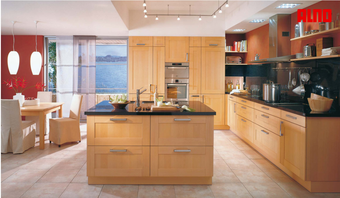 Small kitchen drawing island kitchen design ideas for Small kitchen layout with island