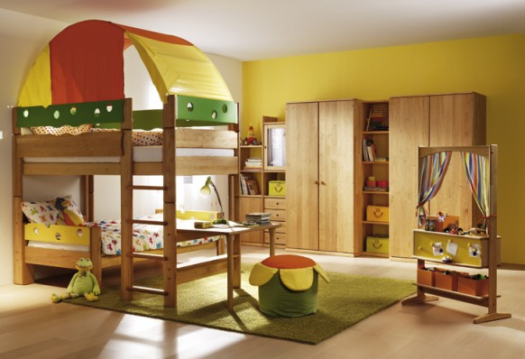 Contemporary kids room 2