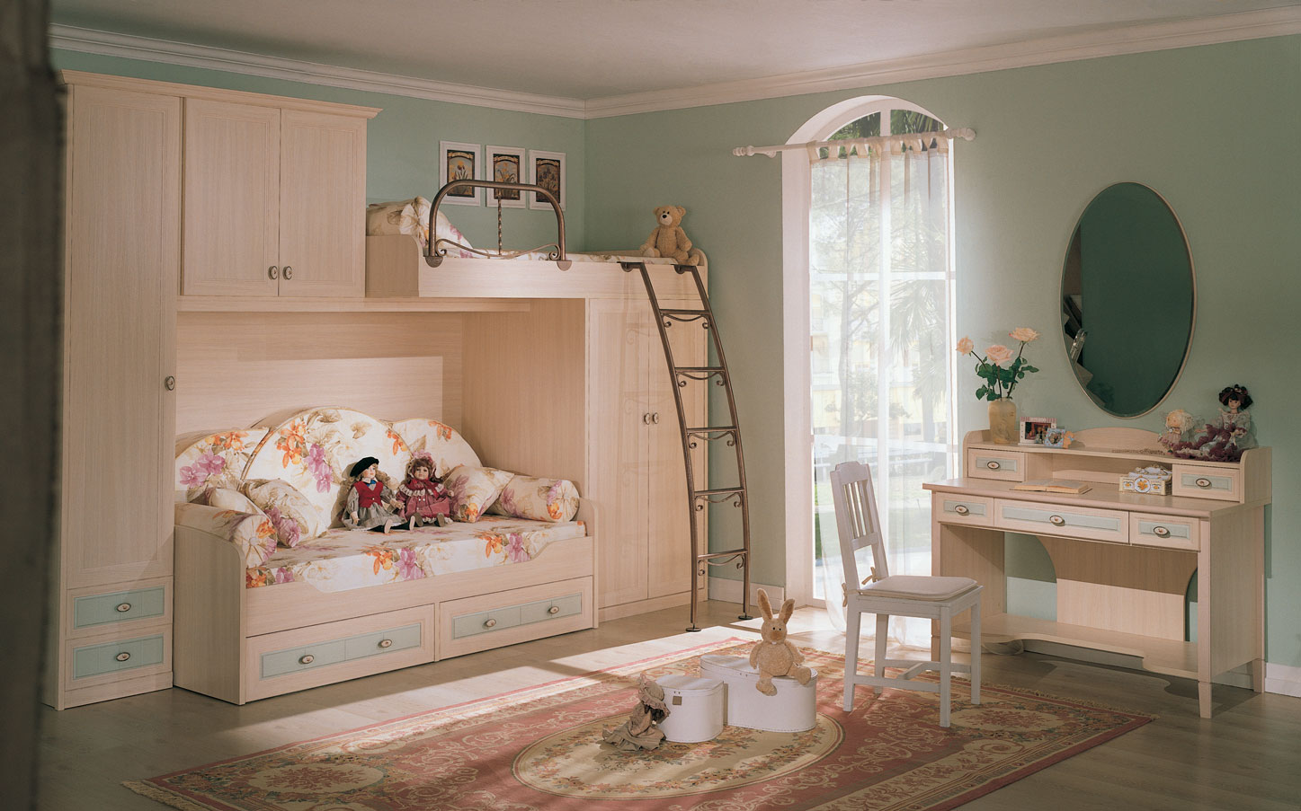 Kid 39 s rooms from russian maker akossta for Children bedroom designs girls