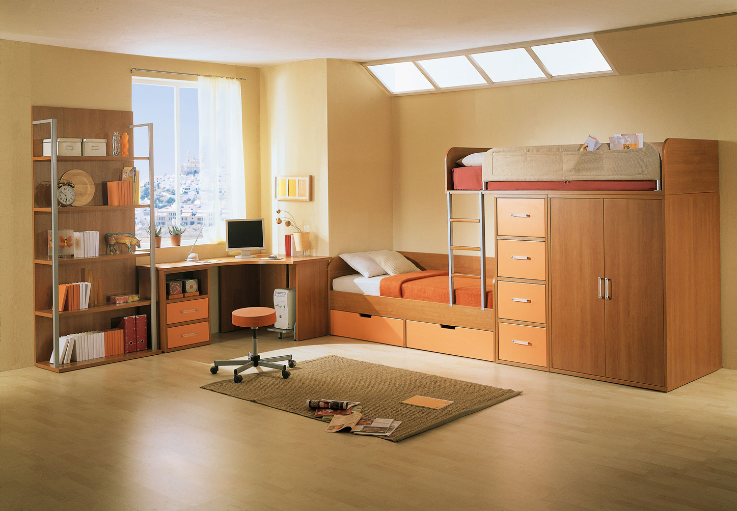 Amazing Home Rooms Kid S Rooms From Russian Maker Akossta